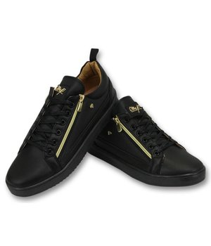 Cash Money Men Trainers CMP Black Gold - CMS97 - Black
