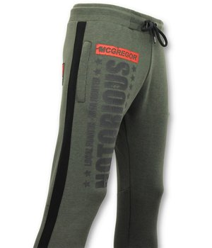 Local Fanatic McGregor Notorious Men Sweatpants - Green
