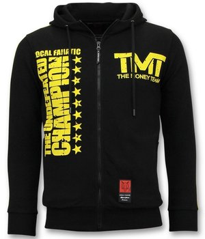 Local Fanatic Exclusive Training Vests Men - TMT Floyd Mayweather - Black