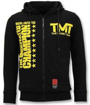 Local Fanatic TMT Floyd Mayweather Zip Hoodie - Black