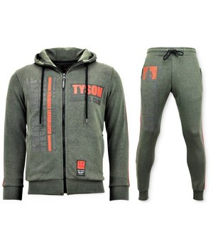 Local Fanatic Iron Mike Tyson Tracksuit Set - Green