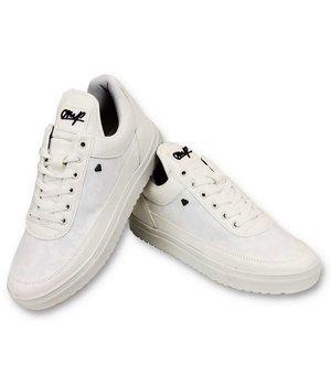 Cash Money Mens Shoes - Case Army Full White - CMS11 - White