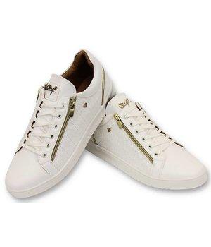 Cash Money Mens Shoes - Maya Full White - CMS97 - White