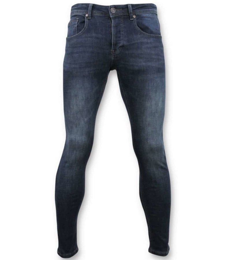 True Rise Basic Jeans For Men  - D3060 - Blue