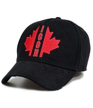 Enos Canada Leaf  ICON Cap - Black