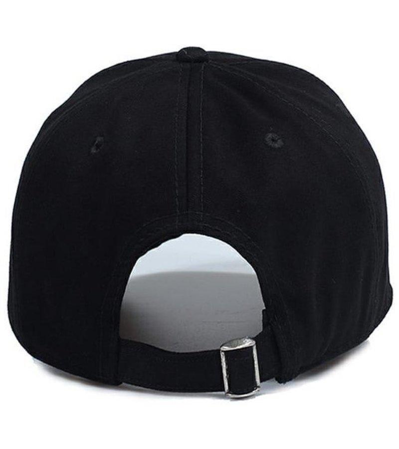 Enos Baseball Cap Men - Embroidered ICON - Black
