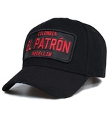 Enos Baseball Cap Men - El Patron Red - Black