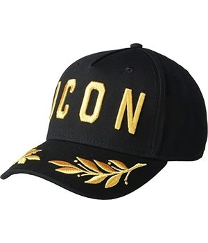 Enos ICON Embroidery Maple Leaf Cap - Black