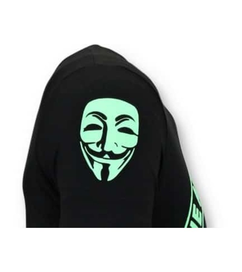 Local Fanatic Exclusive T-Shirt - We Are Anonymous - Black
