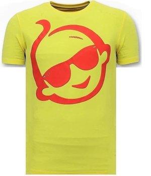 Local Fanatic Zwitsal Printed T Shirt - Yellow