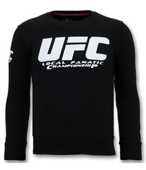 Local Fanatic Luxury Men's - UFC Championship - Black