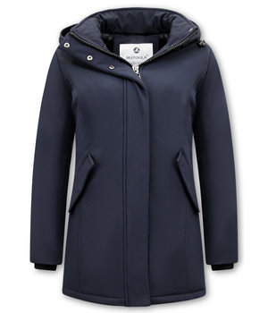 Matogla Parka Women - Slim Fit - Blue