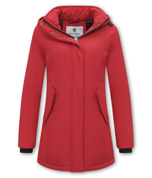 Matogla Parka Women - Slim Fit - Red