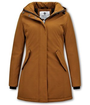 Matogla Parka Women - Slim Fit - Brown
