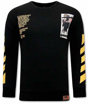 Tony Backer Harorock Cafe Sweatshirt - Black