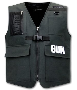 Tony Backer Tactical Raid Vest - 21007 - Black