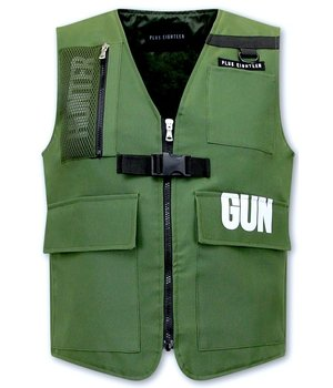 Tony Backer Tactical Raid Vest - 21007 - Green