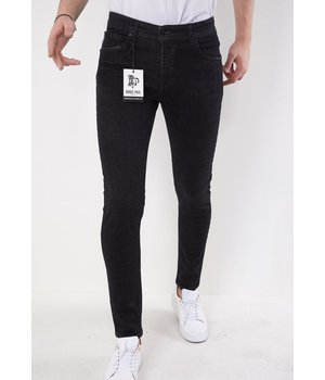 True Rise Skinny Jeans For Men - 5509 - Black