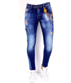 Local Fanatic Ripped Jeans Trends 2021 - 1006 - Blue