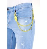 Local Fanatic Street Style Ripped Jeans Men - 1024 - Blue