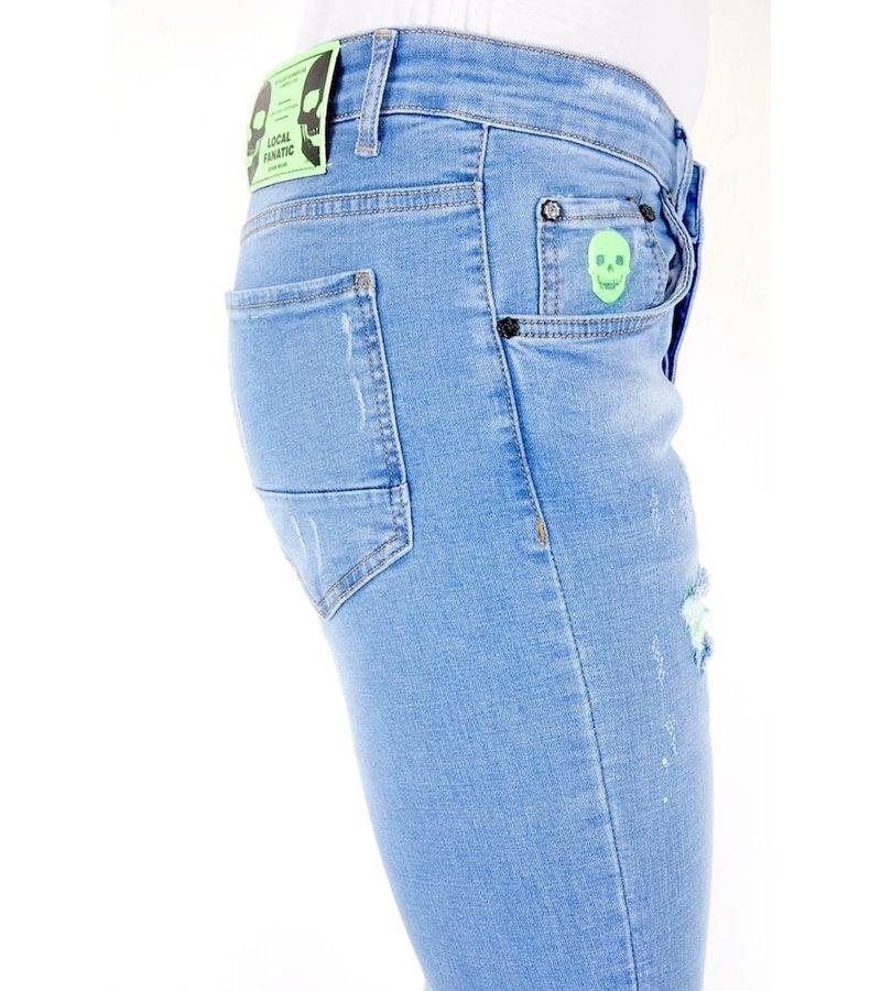 Local Fanatic Light Wash Jeans Men - 1027 - Blue