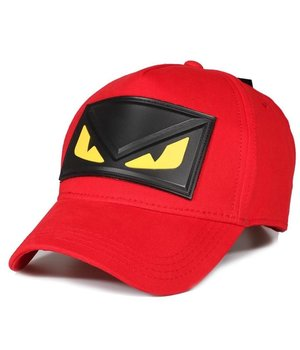 Enos Mens Caps Yellow Eye - Red