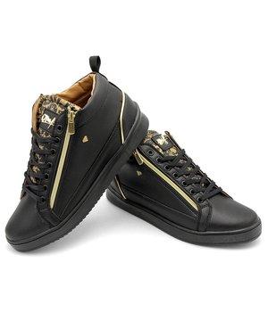 Cash Money Men Sneakers Majesty Black - CMS98 - Black