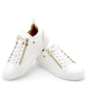 Cash Money Men Sneakers Cesar Full  White - CMS97 - White