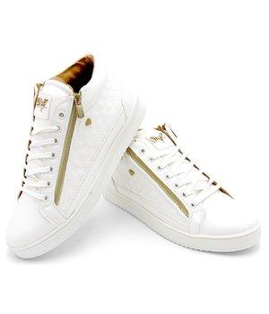 Cash Money Men Trainers Jailor Full White - CMS98 - White