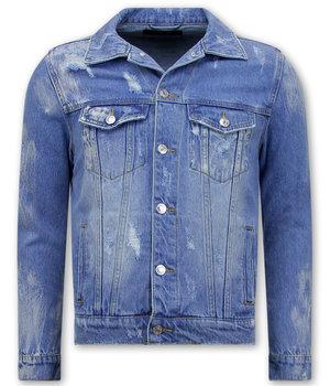 Enos Mens Denim Jacket - RJ9028 -  Blue