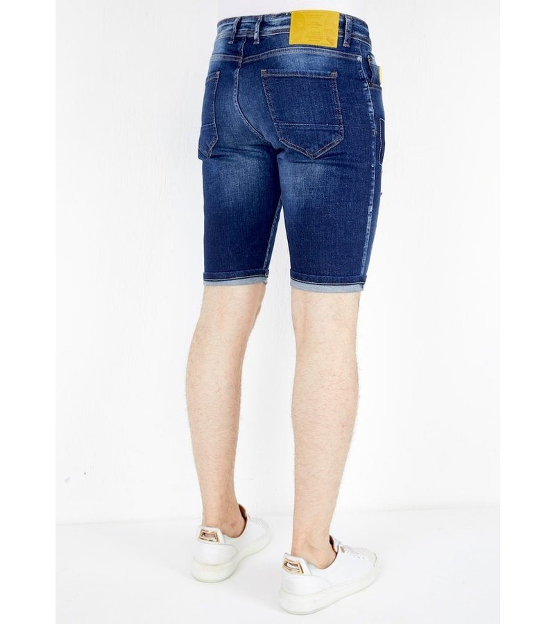 Local Fanatic Jeans Shorts For Men - 1052 - Blue