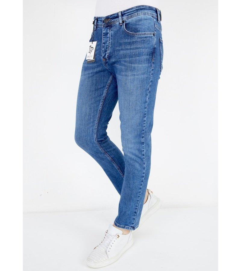 True Rise Regular Fit Jeans Men - A53C - Blue
