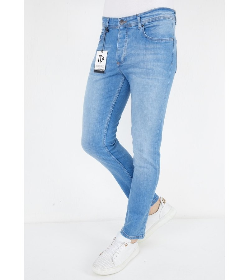 True Rise Men's Straight Cut Jeans - A53.B - Blue