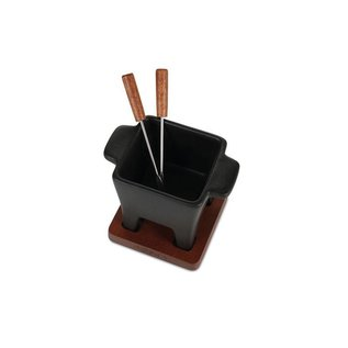 Boska Tapas Fondue zwart, 200 grams inhoud