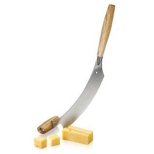 Holländisches Käse- & Pizzamesser Eichenholz 'L' - 30 cm