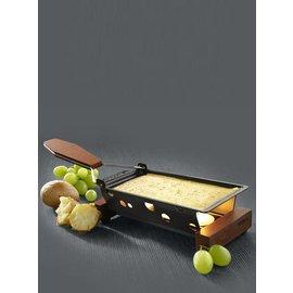 Boska Raclette op kaarsjes, met 1 of 8 pannetjes
