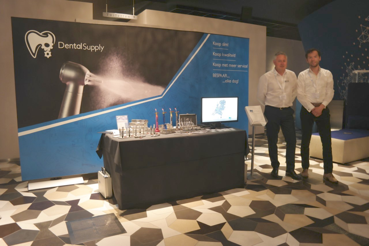 Dental Supply stand het VTvO en N.V.O.S. congres 2018