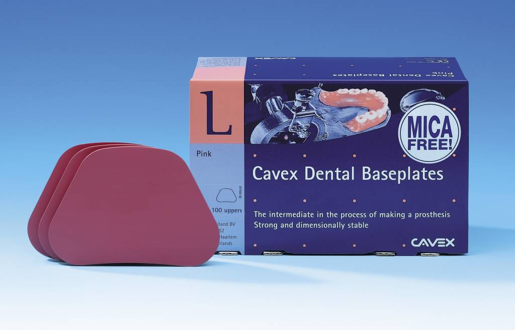 Cavex Baseplates mica-free boven