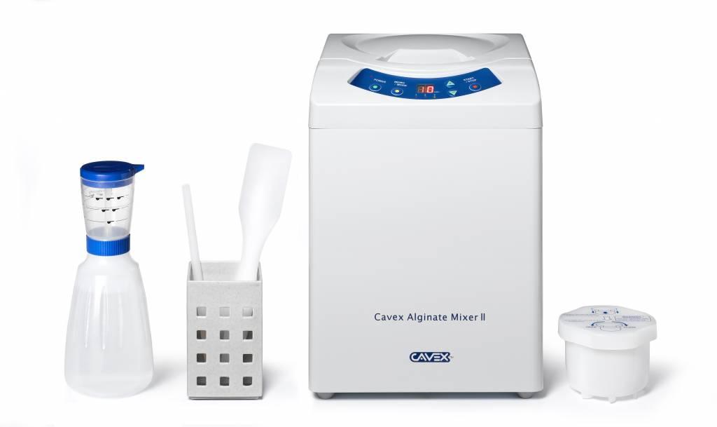 Cavex Alginate Mixer II, inclusief 10 x 500 g Cavex  Alginate