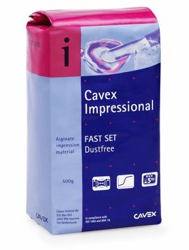 Cavex Impressional Fast Set Navulling