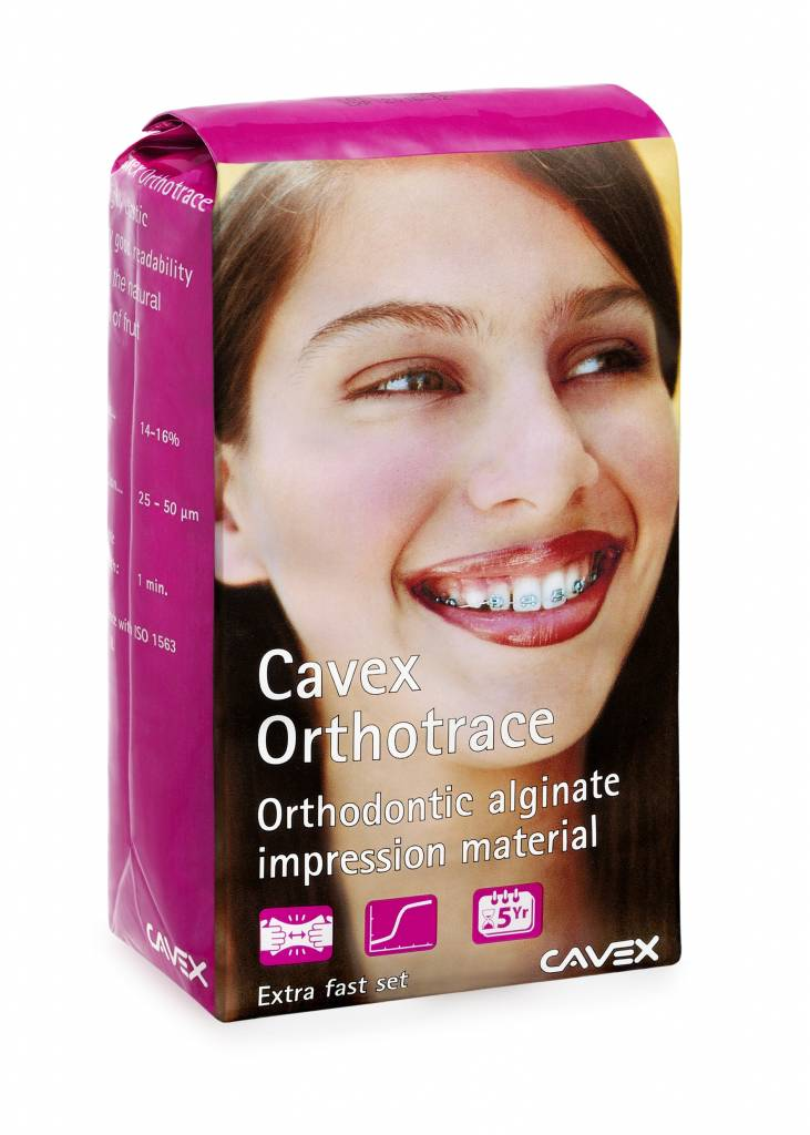 Cavex Orthotrace, systeemverpakking + accessoires
