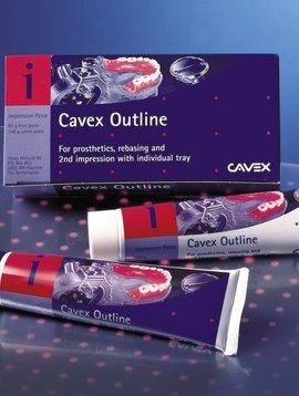 Cavex Cavex Outline 2 tubes (wit/blauwe pasta)
