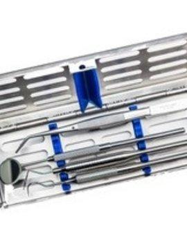 Instrumentencassette compleet - 5 instrumenten