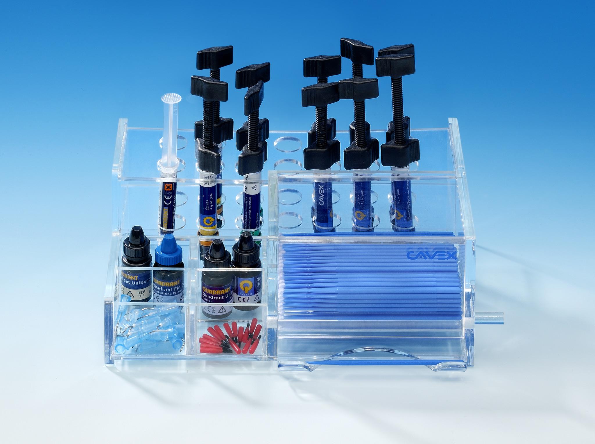 Cavex Quadrant Q-Systemiser Syringes