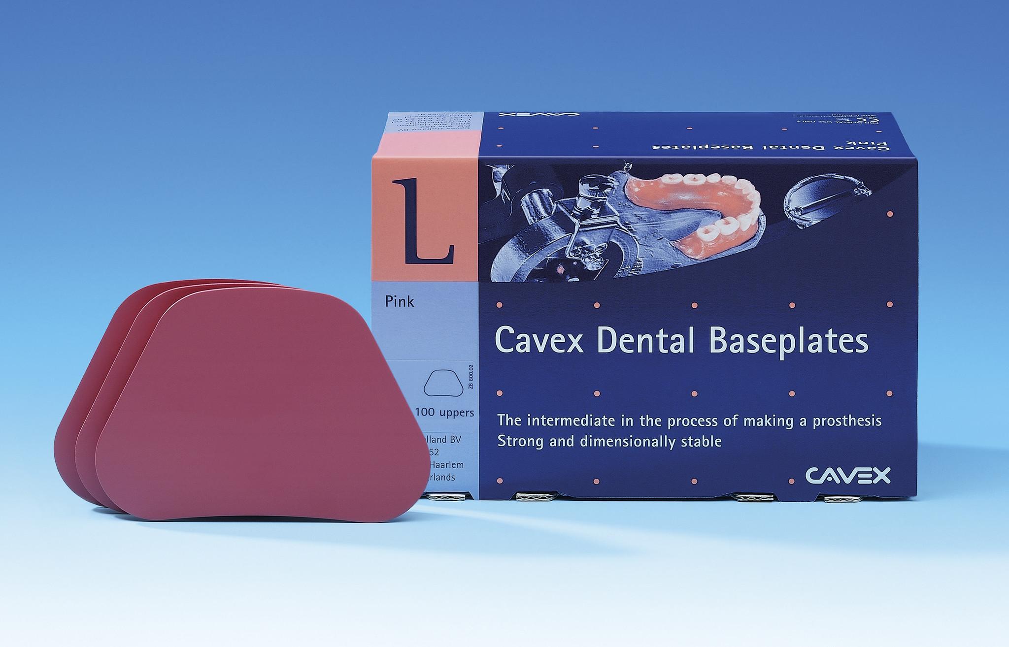 Cavex Baseplates boven, dubbel dik 2.70-2.80 mm