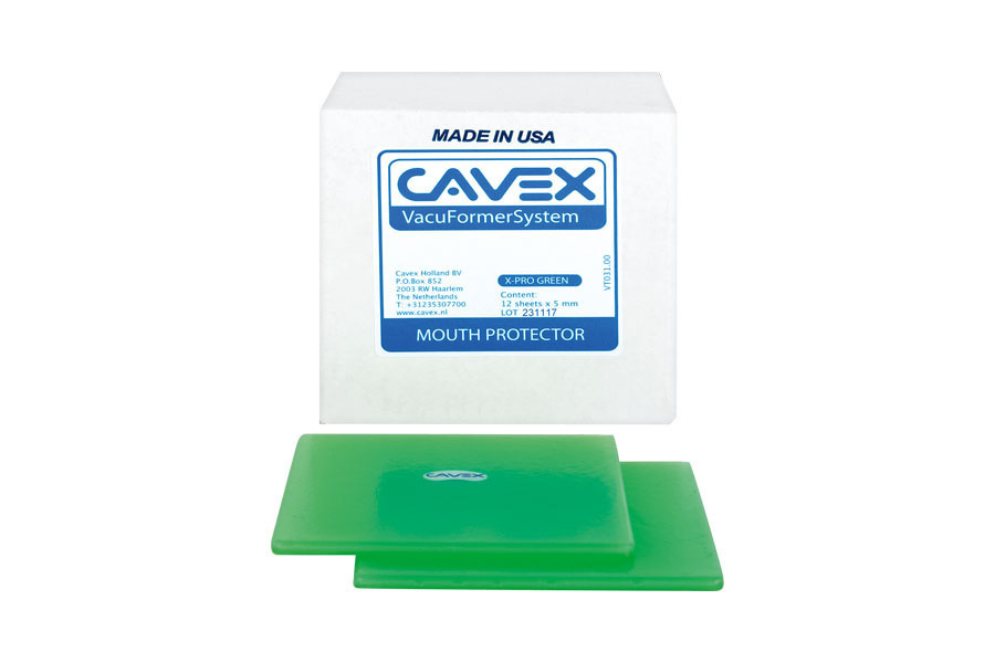 Cavex Mouth Protector X-pro Green