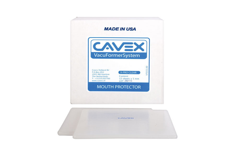 Cavex Mouth Protector X-pro Transparant