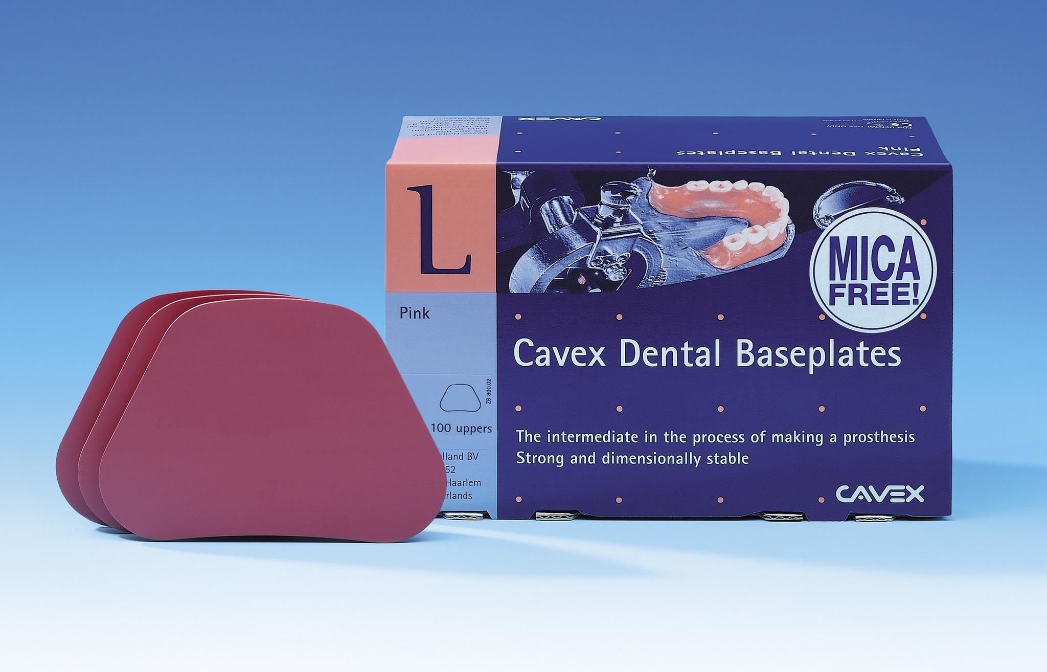 Cavex Baseplates mica-free onder