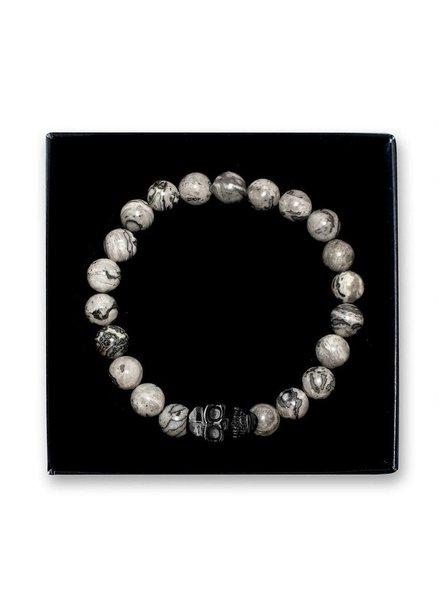 SELFMADE Bracelets SB Skull Black