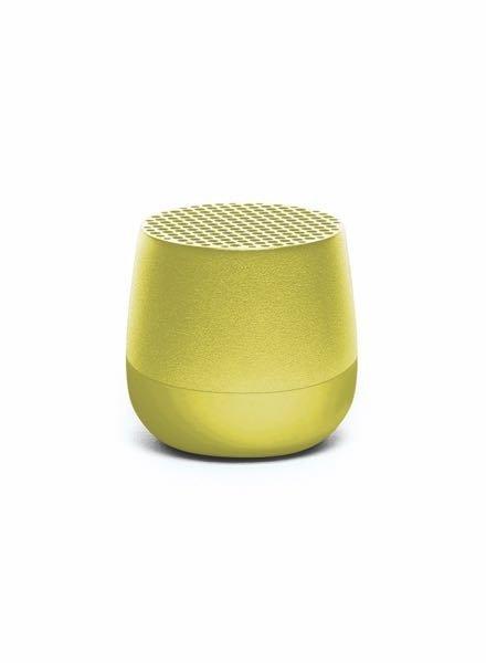 Lexon MINO Speaker Metal Lime